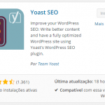 WordPress Seo Plugin BY YOAST: Como instalar e configurar