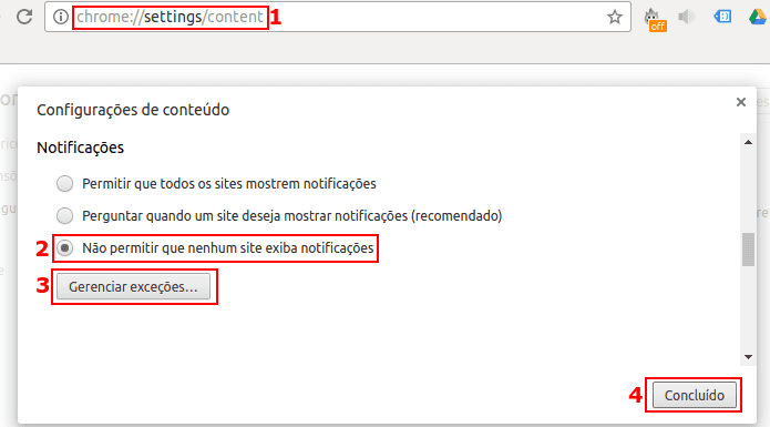 Notificações - Como Impedir Sites de Ficarem Solicitando Mostrar - IT9